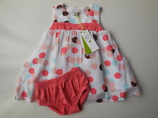 Gorgeous Petit Lem baby girl dress + nappy cover size 00 Fits 6 mths *Gift Idea*