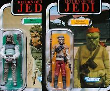 Star Wars Vintage VC56 Kithaba VC99 Nikto Skiff Guard Unpunched MOC Figure Lot