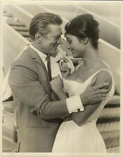 """DALIAH LAVI & KIRK DOUGLAS in """"Two Weeks in Another Town"""" Original Photo 1962"""