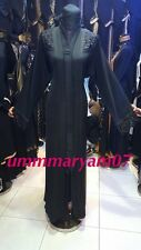 Latest Design OPEN FRONT Dubai Abaya Kaftan Farasha  Maxi Dress ABAYA +HIJAB