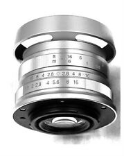 Hengyijia HD.MC 35mm F1.8 (Silver) Manual Focus LENS f/ Fujifilm FX Mount Camera