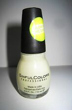 SINFUL COLORS NAIL POLISH - GLOW IN THE DARK