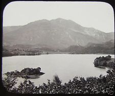GWW Glass Magic Lantern Slide LOCH ACHRAY AND BEN VENUE C1890 SCOTLAND
