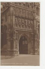 Gloucester Cathedral South Porch Judges 3658 Postcard, A869