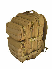 COYOTE Molle RUCKSACK Assault Large 36L BACKPACK Tactical Army Khaki Day Pack