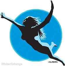 Swimmer Sticker Decal Poster Artist Marco Almera MA37