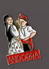 Pin's Andorra / Costumes traditionnels d'Andorre