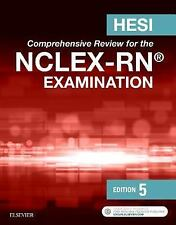 HESI Comprehensive Review for the NCLEX-RN Examination by HESI (2016, Paperback)