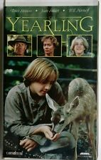 The Yearling VHS Tape 1994 White Clamshell Box, Peter Strauss, Free Shipping!!