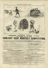 1890 Margate langosta drama en cuatro actos embarcadero baños de natación