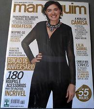 MANEQUIM  BRAZILIAN MAGAZINE 665 - AUGUST 2014 - LILIA CABRAL