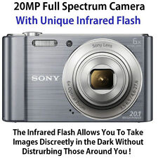 SONY DSC-W810 FULL SPECTRUM GHOST HUNTING CAMERA with INVISIBLE INFRARED FLASH