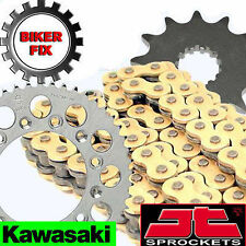 Kawasaki  ER500 A1-A4,C1-C4 (ER-5) 97-06 GOLD HDS Chain and Sprocket Set Kit