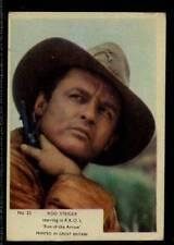 (Gg269-348) Kane, Film Stars, Grey Plain Back, #25 Rod Steiger 1958 G-VG