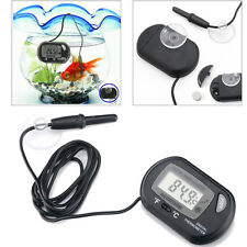Digital LCD Fish Tank Aquarium Marine Water Terrarium Thermometer Temperature