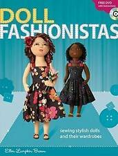 DOLL FASHIONISTAS: Sewing stylish dolls & their wardrobes: WH2-R2D : PB120 : NEW