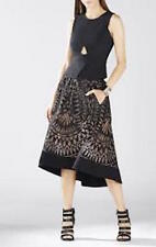 NWT BCBG MaxAzria Elley Sleeveless Peplum Top, Vest, Black size S  $198.00