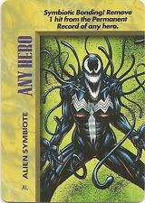 OVERPOWER Any Hero Alien Symbiote - She-Venom - IQ - Rare
