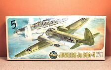 1/72 AIRFIX JUNKERS Ju-88A-4 MODEL KIT # 387