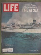LIFE MAGAZINE JANUARY 3 1964 J.F.K. HOVERCRAFT LAKONIA COLLEGE FOOTBALL BOWLS
