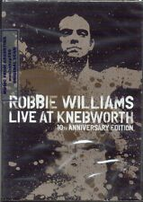 2 DVD SET ROBBIE WILLIAMS LIVE AT KNEBWORTH 10TH ANNIVERSARY EDITION NEW 2013
