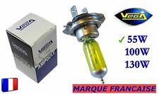 ► Ampoule Jaune ancien Marque Française VEGA® H7 55W Auto Moto 12V ◄