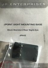 SHIELD MINI SIGHT SMS JPOINT RED DOT GLOCK PISTOL REAR SIGHT DOVETAIL MOUNT NEW