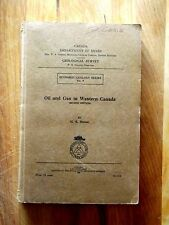 Oil and Gas in Western Canada - 1933 - Geology / Mining Book