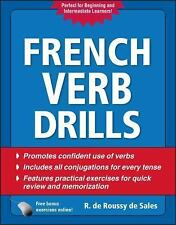 French Verb Drills, Fourth Edition by R. De Roussy De Sales (2010, Paperback)