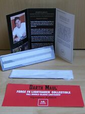 Master Replicas Force FX Lightsaber DARTH MAUL Signature Set STAR WARS