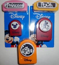 5 Disney Paper Punch Punches Mickey Mouse,Winnie The Pooh, Nemo Scrapbooking