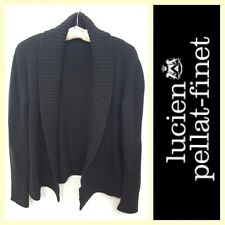Lucien Pellat-Finet $1,850 100% cashmere chunky open-front cardigan~M