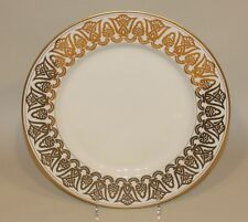 1977 Fitz & Floyd Gold Luxor 12 Inch Round Serving Platter Charger