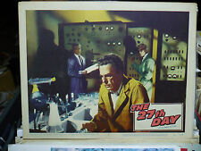 THE 27th DAY, orig 1957 LC #7 [Gene Barry in a computer laboratory]