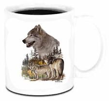 11 oz Coffee Mug Cup Nature Wolf Wolves Unique Wildlife
