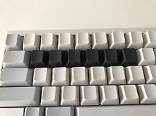New Genuine PFU Happy Hacking Keyboard HHKB Topre Black Blank 6x QWERTY Row Keys