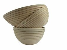 Rattan Cane Banneton Bread Dough Proving Proofing Basket Brotform Round UK 1 Kg