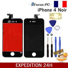 VITRE TACTILE + ECRAN LCD RETINA SUR CHASSIS POUR IPHONE 4 NOIR + OUTILS FR