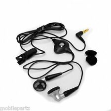 BlackBerry 3.5mm Stereo Headphones for Curve 8520 8900 9300 3G 9320 9360 9380