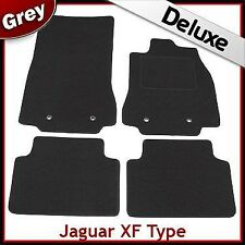 Jaguar XF Mk1 2008-2015 Fully Tailored LUXURY 1300g Fitted Car Carpet Mats GREY