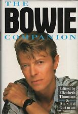 "ELIZABETH THOMSON & DAVID GUTMAN - ""THE BOWIE COMPANION"" -1st Edn HB/DW (1993)"