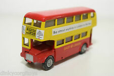 BUDGIE 236 ROUTEMASTER AEC DOUBLE DECKER SHOP LINKER MINT CONDITION