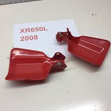 XR650L XR 650 Honda bark buster hand guards wind finger oem plastic no cracks