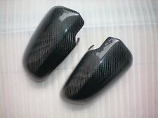 For Audi A4 B6 B7 A3 8P A6 C6 2002-2008 PUT-ON CARBON FIBER Side Mirror Covers