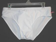 "Men's Bright White Competition Australia Brand Swim Briefs - Size 34"" to 36"""