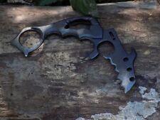 Integrity Implements Grey Fin Custom Karambit #001 one piece knife 1075 steel