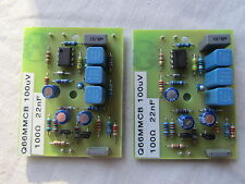 QUAD 66 pre amp MC Moving Coil 2 x module boards 100µV 22nF MC Pair of Q66DMKB
