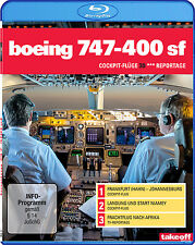 Boeing 747-400 SF - Cockpit-Flüge - Reportage - Blu-ray 3D - NEU - Take-off TV