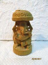 Petite statuette en bois : divinité Indienne