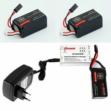 2 x 2500mAh Battery For Parrot AR.Drone 2.0 + Speed Balance Charger